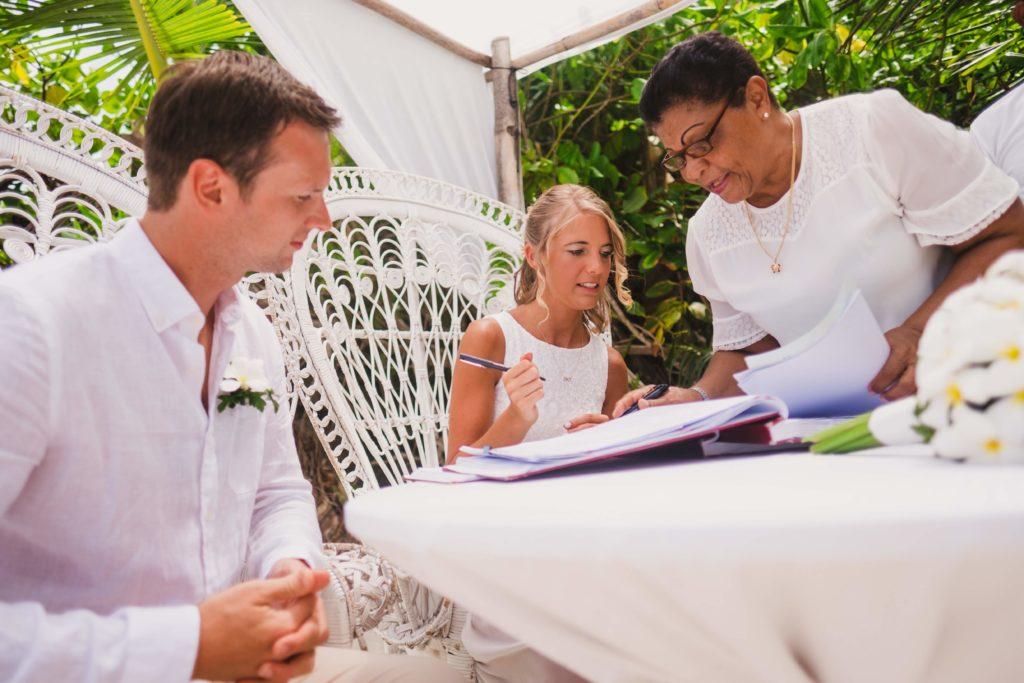 Hochzeit auf den Seychellen Verwaltung und Kosten
