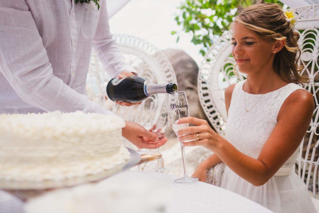 Hochzeit auf den Seychellen Organisation