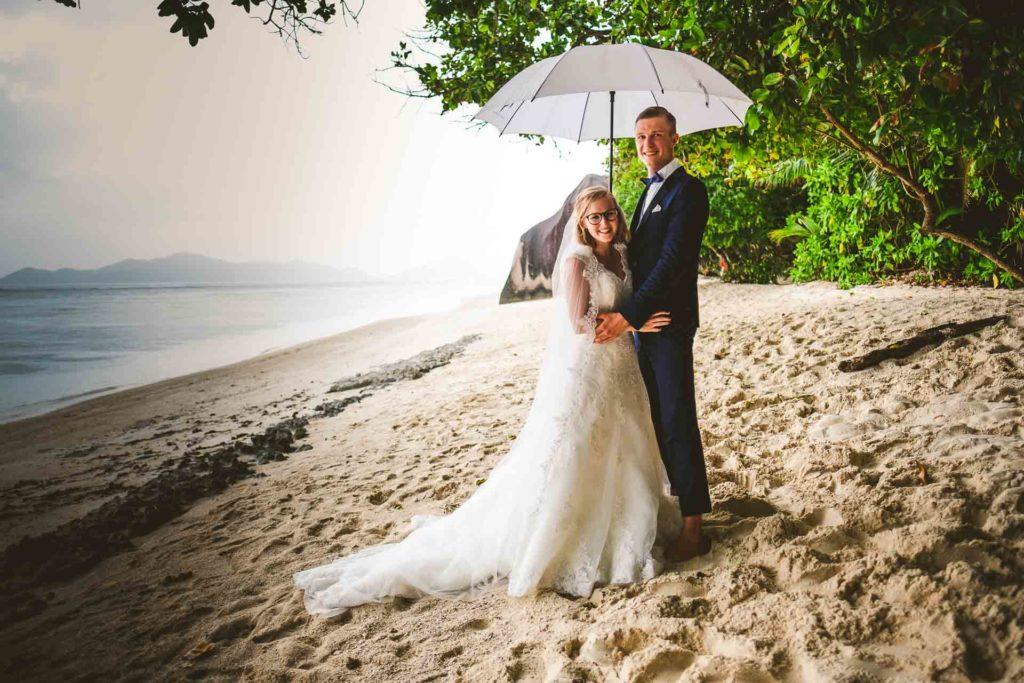 Hochzeit auf den Seychellen - Organisation und Gäste