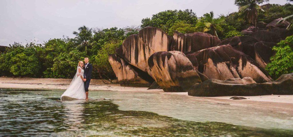 Hochzeit auf den Seychellen - Banner